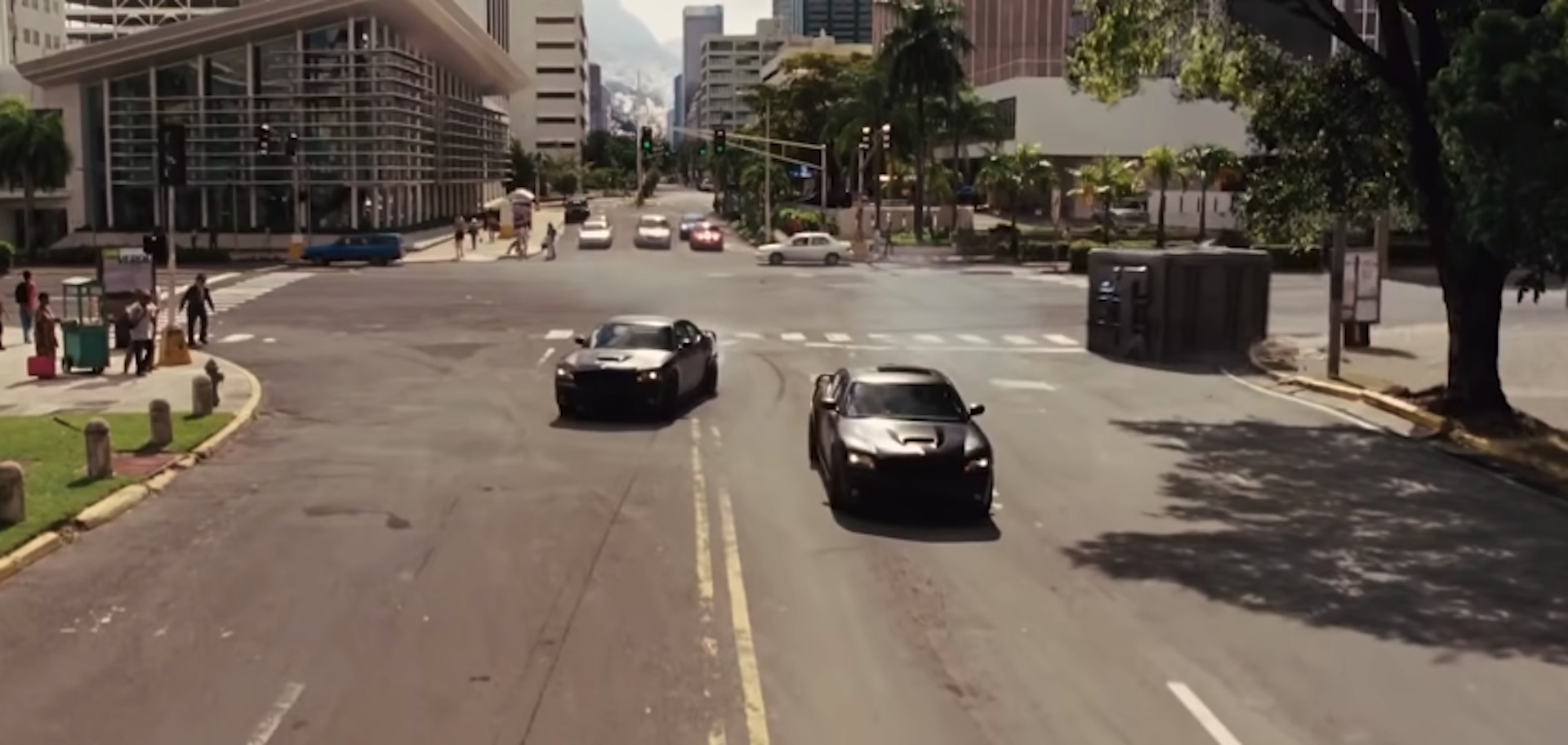 fast five vault chase scene